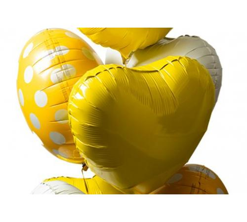 Easter chick balloon bouquet image