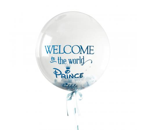 Welcome To The World Prince Bubble image